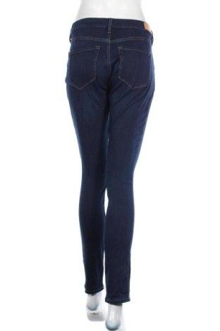 Дамски дънки S.Oliver, Размер M, Цвят Син, 47% памук, 37% лиосел, 13% полиестер, 3% еластан, Цена 28,20лв.