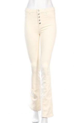 Дамски дънки Tally Weijl, Размер S, Цвят Екрю, 87% памук, 11% полиестер, 2% еластан, Цена 9,98лв.