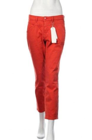 Blugi de femei Tom Tailor, Mărime L, Culoare Roșu, 60% bumbac, 25% poliester, 12% viscoză, 3% elastan, Preț 96,61 Lei