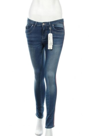Дамски дънки Tom Tailor, Размер S, Цвят Син, 98% памук, 2% еластан, Цена 26,70лв.