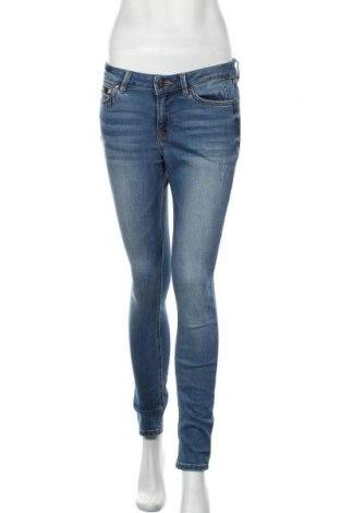 Дамски дънки Tom Tailor, Размер M, Цвят Син, 72% памук, 27% полиестер, 1% еластан, Цена 17,64лв.