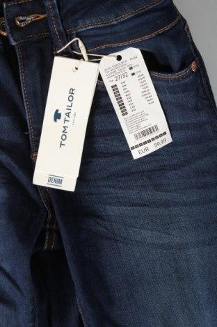 Дамски дънки Tom Tailor, Размер S, Цвят Син, 42% памук, 34% полиестер, 22% вискоза, 2% еластан, Цена 29,37лв.