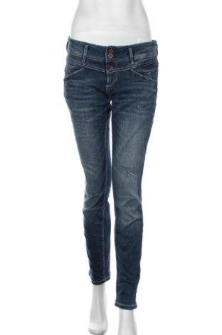 Дамски дънки Tom Tailor, Размер L, Цвят Син, 98% памук, 2% еластан, Цена 30,36лв.