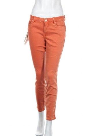 Дамски дънки Tom Tailor, Размер XL, Цвят Оранжев, 75% памук, 23% полиестер, 2% еластан, Цена 31,15лв.