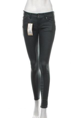 Дамски дънки Tom Tailor, Размер S, Цвят Зелен, 76% вискоза, 21% полиестер, 3% еластан, Цена 66,75лв.