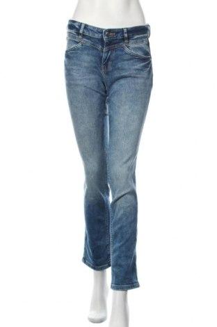 Дамски дънки Tom Tailor, Размер M, Цвят Син, 94% памук, 6% еластан, Цена 22,25лв.