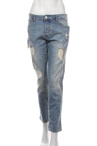 Дамски дънки Tom Tailor, Размер M, Цвят Син, 99% памук, 1% еластан, Цена 66,75лв.