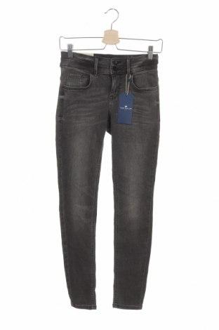 Дамски дънки Tom Tailor, Размер M, Цвят Сив, 35% лиосел, 35% памук, 28% полиестер, 2% еластан, Цена 26,07лв.