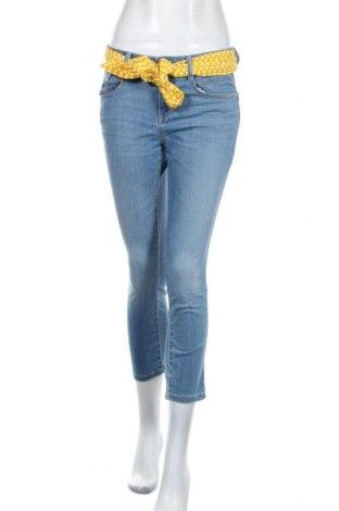 Дамски дънки Tom Tailor, Размер M, Цвят Син, 80% памук, 19% полиестер, 1% еластан, Цена 20,50лв.