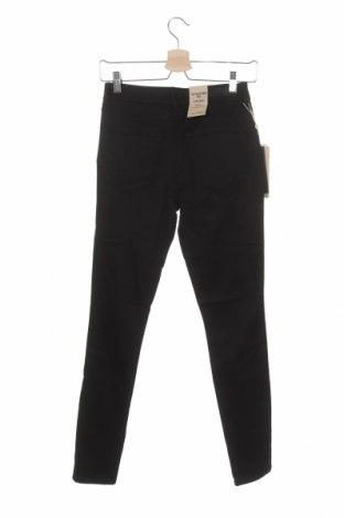 Дамски дънки Tom Tailor, Размер S, Цвят Черен, 81% модал, 17% полиестер, 2% еластан, Цена 29,37лв.