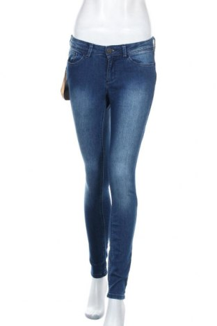 Дамски дънки Tom Tailor, Размер S, Цвят Син, 78% памук, 20% полиестер, 2% еластан, Цена 57,00лв.