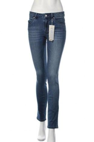 Дамски дънки Tom Tailor, Размер M, Цвят Син, 80% памук, 19% полиестер, 1% еластан, Цена 66,75лв.
