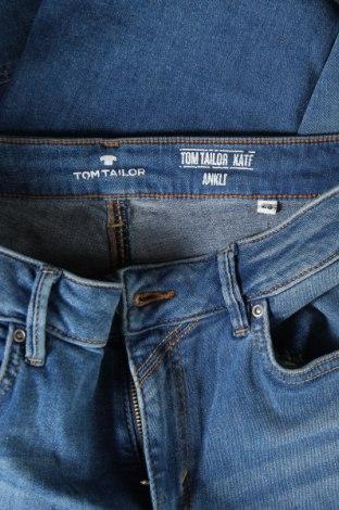 Дамски дънки Tom Tailor, Размер M, Цвят Син, 97% памук, 3% еластан, Цена 61,50лв.