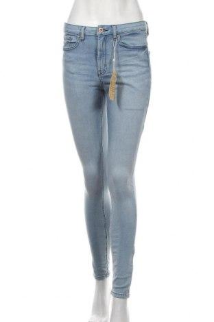 Дамски дънки Tom Tailor, Размер S, Цвят Син, 60% памук, 25% полиестер, 12% вискоза, 3% еластан, Цена 66,75лв.
