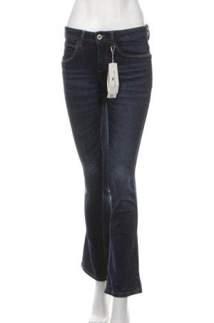Дамски дънки Tom Tailor, Размер S, Цвят Син, 98% памук, 2% еластан, Цена 22,25лв.