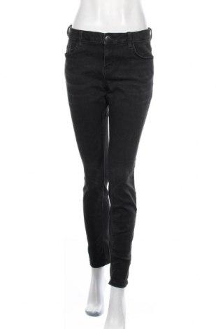 Дамски дънки Tom Tailor, Размер M, Цвят Сив, 71% памук, 25% полиестер, 2% еластан, 2% вискоза, Цена 61,50лв.