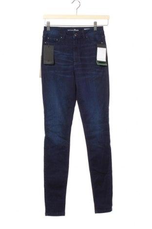 Дамски дънки Tom Tailor, Размер XS, Цвят Син, Цена 29,37лв.