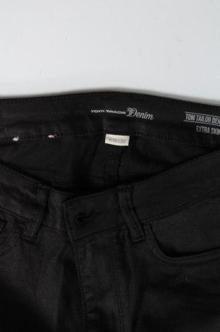 Дамски дънки Tom Tailor, Размер M, Цвят Черен, 81% модал, 17% полиестер, 2% еластан, Цена 27,06лв.