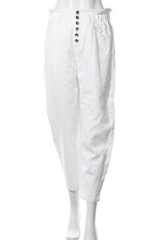 Дамски дънки United Colors Of Benetton, Размер M, Цвят Бял, Памук, Цена 66,75лв.