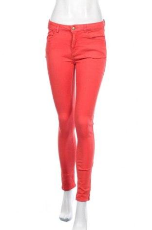 Дамски дънки Vrs Woman, Размер S, Цвят Червен, 65% памук, 32% полиестер, 3% еластан, Цена 21,84лв.