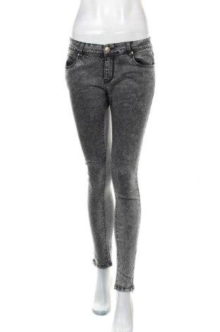 Дамски дънки Vs Miss Jeans, Размер L, Цвят Сив, 62% памук, 36% полиестер, 2% еластан, Цена 29,40лв.