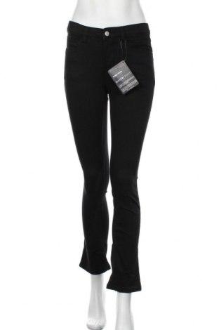 Дамски дънки Wonder Jeans, Размер S, Цвят Черен, 65% памук, 30% полиестер, 5% еластан, Цена 19,75лв.