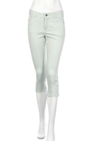 Дамски дънки Yessica, Размер S, Цвят Зелен, 64% памук, 32% полиестер, 4% еластан, Цена 19,85лв.