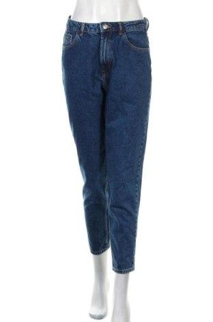 Blugi de femei Zara Trafaluc, Mărime M, Culoare Albastru, Preț 106,11 Lei