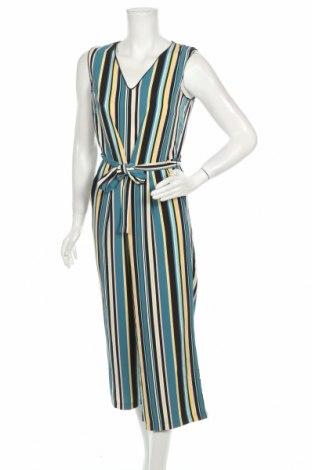 Salopetă de femei Tom Tailor, Mărime S, Culoare Multicolor, 98% poliester, 2% elastan, Preț 188,88 Lei