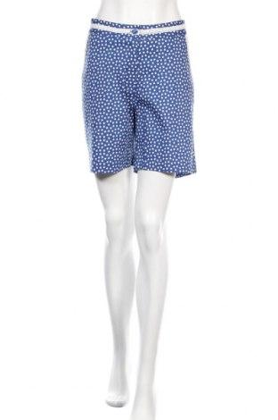 Дамски къс панталон Almatrichi, Размер L, Цвят Син, 97% памук, 3% еластан, Цена 35,55лв.