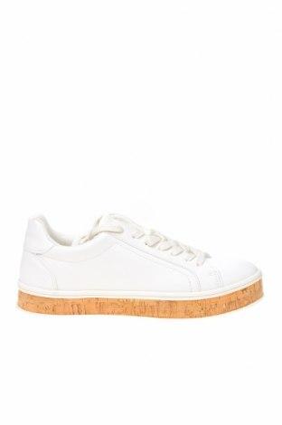 Дамски обувки Bullboxer, Размер 40, Цвят Бял, Еко кожа, Цена 33,18лв.