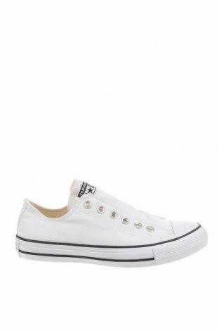 Дамски обувки Converse, Размер 38, Цвят Бял, Текстил, Цена 51,17лв.