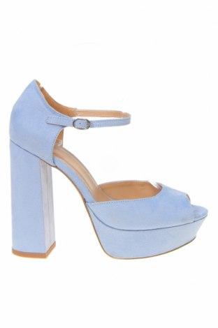 Γυναικεία παπούτσια Even&Odd, Μέγεθος 38, Χρώμα Μπλέ, Κλωστοϋφαντουργικά προϊόντα, Τιμή 24,33€