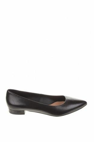 Дамски обувки Gino Rossi, Размер 38, Цвят Черен, Естествена кожа, Цена 78,00лв.