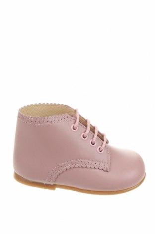 Детски обувки Lola Palacios, Размер 20, Цвят Розов, Естествена кожа, Цена 21,24лв.