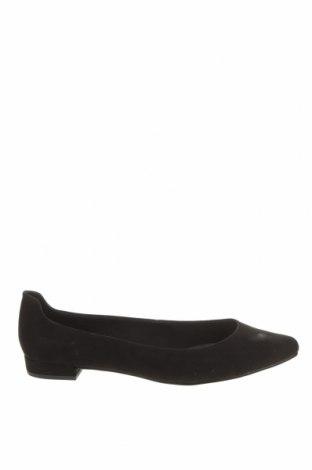 Дамски обувки Marco Tozzi, Размер 39, Цвят Черен, Текстил, Цена 40,71лв.