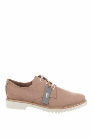 Дамски обувки Marco Tozzi, Размер 39, Цвят Розов, Текстил, Цена 37,92лв.