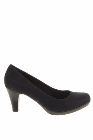 Дамски обувки Marco Tozzi, Размер 40, Цвят Черен, Текстил, Цена 31,27лв.