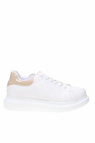 Дамски обувки NLY, Размер 39, Цвят Бял, Еко кожа, Цена 42,78лв.