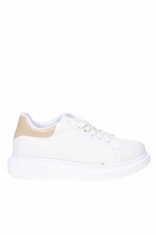 Дамски обувки NLY, Размер 40, Цвят Бял, Еко кожа, Цена 42,78лв.