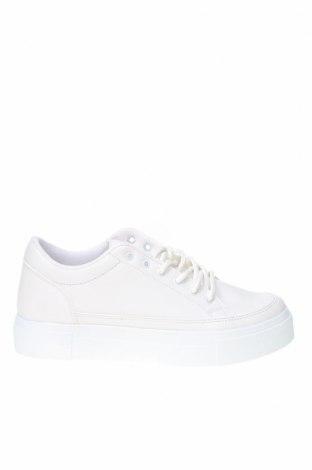 Дамски обувки NLY, Размер 41, Цвят Бял, Еко кожа, Цена 39,33лв.