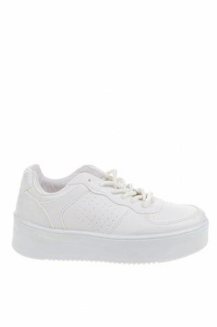 Дамски обувки NLY, Размер 37, Цвят Бял, Еко кожа, Цена 46,02лв.