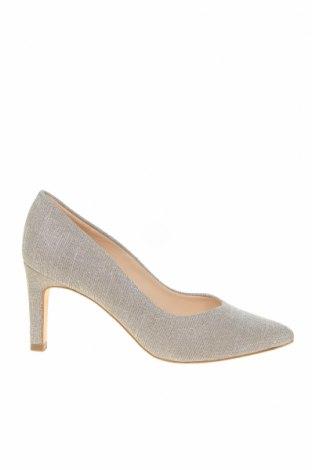 Γυναικεία παπούτσια Peter Kaiser, Μέγεθος 35, Χρώμα Ασημί, Κλωστοϋφαντουργικά προϊόντα, Τιμή 41,31€