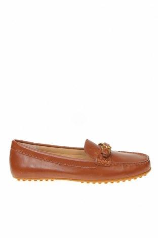 Γυναικεία παπούτσια Ralph Lauren, Μέγεθος 38, Χρώμα Καφέ, Γνήσιο δέρμα, Τιμή 66,34€