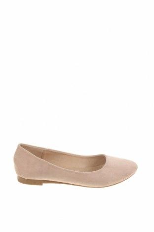 Дамски обувки Sixth Sens, Размер 38, Цвят Бежов, Текстил, Цена 23,40лв.