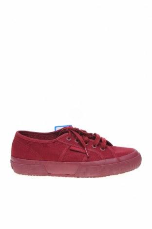 Дамски обувки Superga, Размер 36, Цвят Червен, Текстил, Цена 40,33лв.