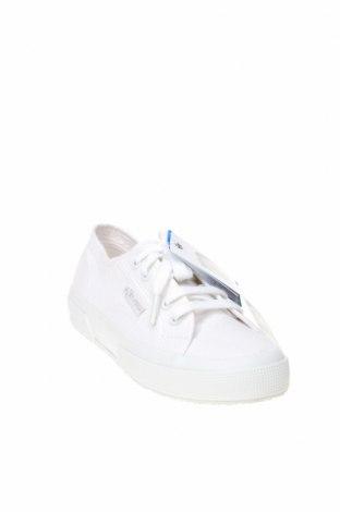 Дамски обувки Superga, Размер 36, Цвят Бял, Текстил, Цена 81,75лв.