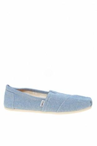 Дамски обувки Toms, Размер 42, Цвят Син, Текстил, Цена 26,22лв.