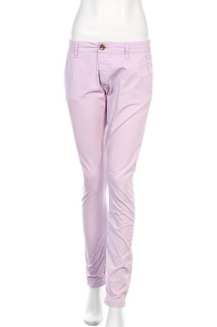 Дамски панталон Acne, Размер M, Цвят Розов, Памук, Цена 41,58лв.