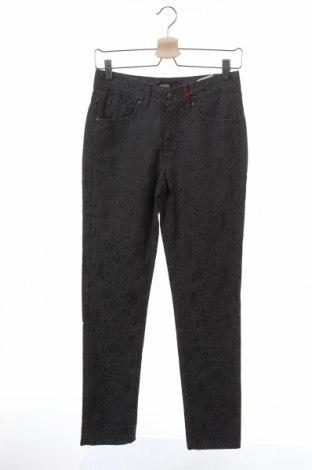 Дамски панталон Angels, Размер XS, Цвят Сив, 60% памук, 38% вискоза, 2% еластан, Цена 37,17лв.